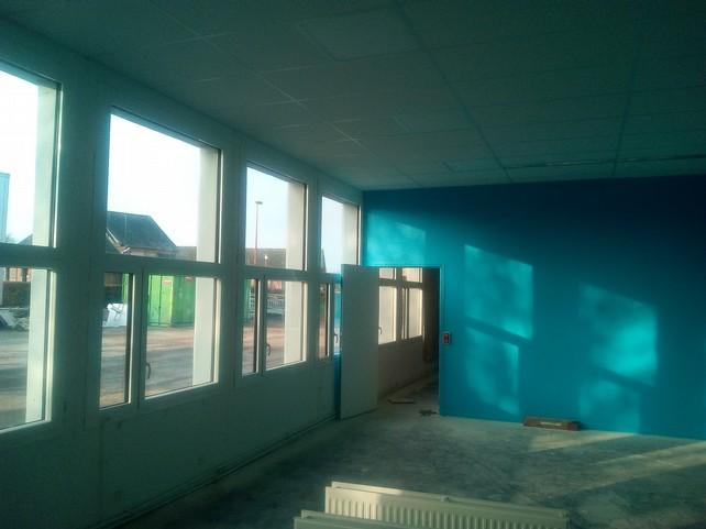 une classe  avec ses nouvelles fenêtres