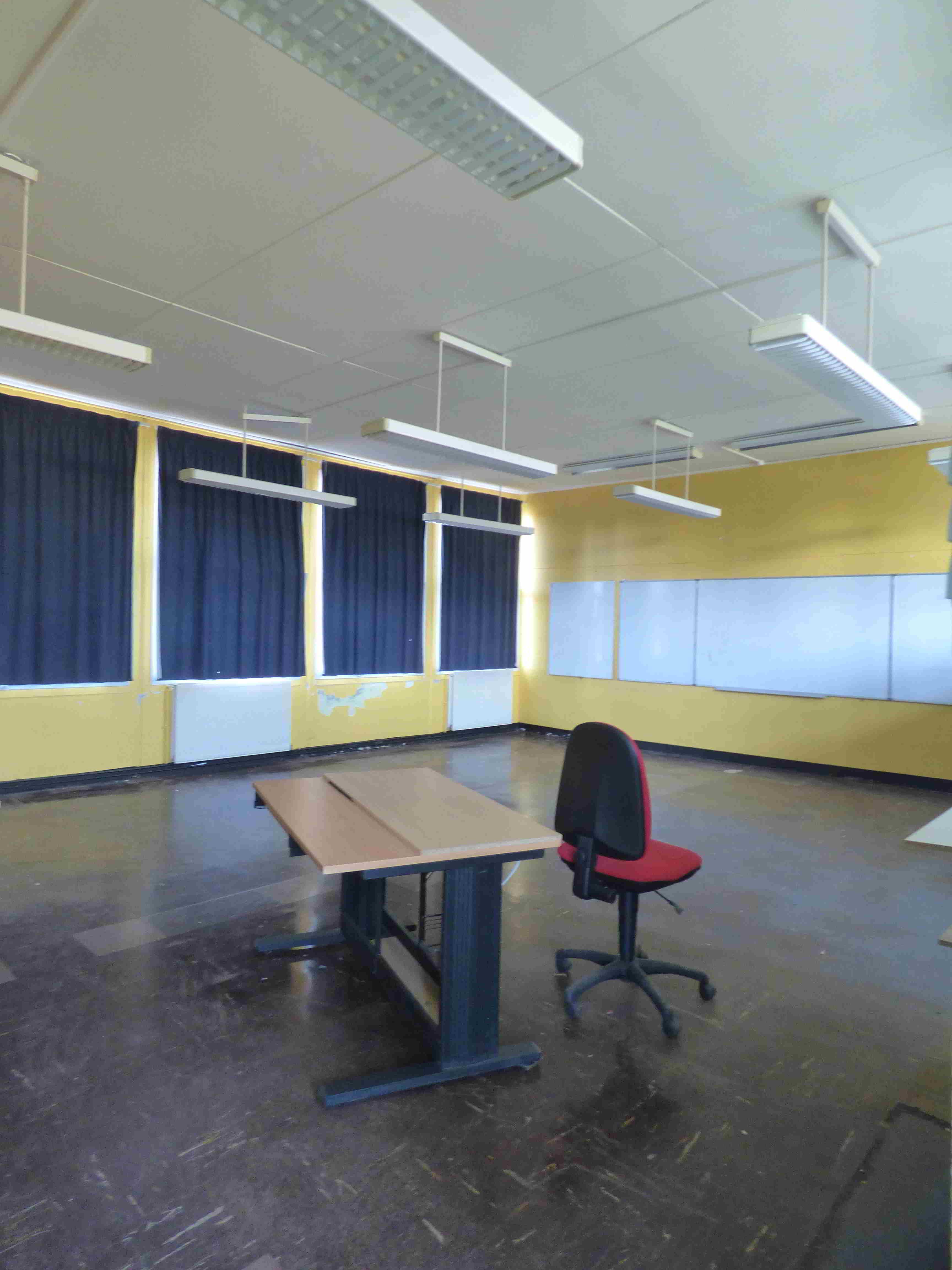 Une classe avant travaux