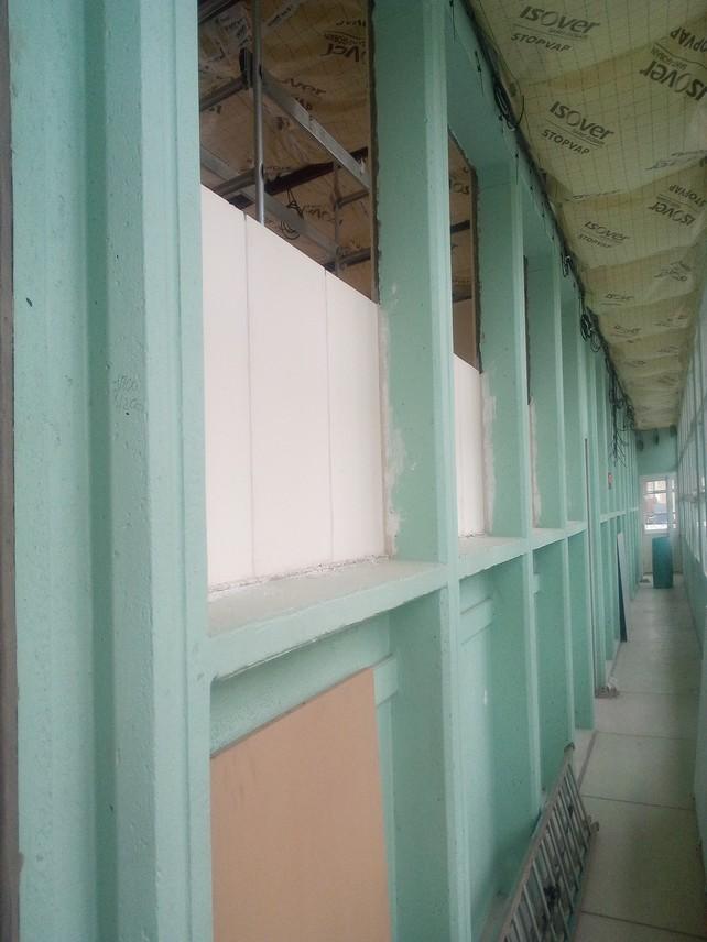Aménagement de placards dans le couloir