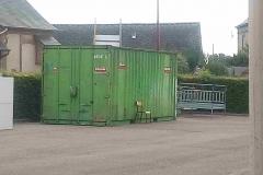 Le container de stockage