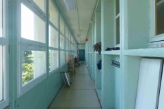 Couloir avant travaux