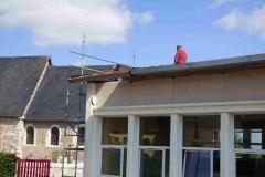 Les travaux en toiture