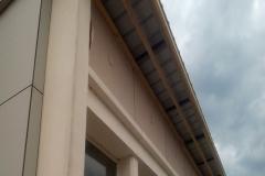 Mise en place des caches-moineaux en façade